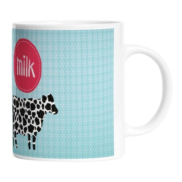 Keramický hrnek I Love Milk, 330 ml