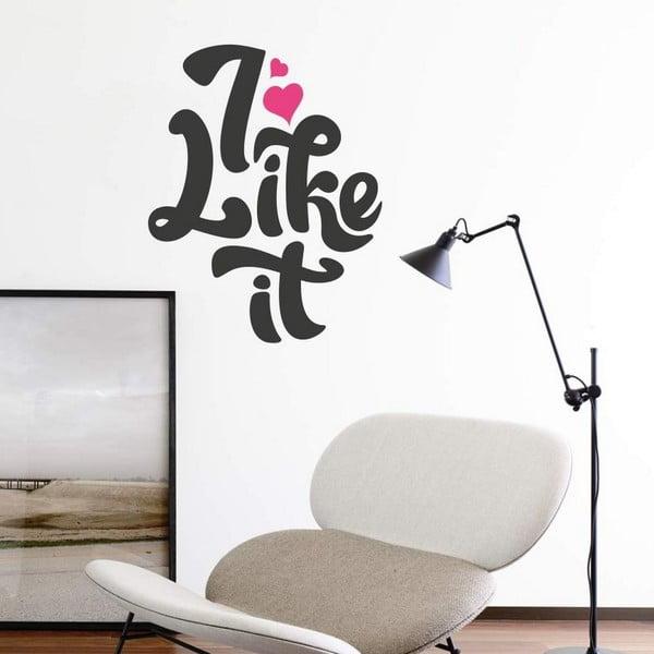 Dekorativní nálepka na stěnu I Like It