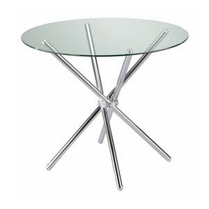 Skleněný kulatý konferenční stolek Evergreen House Stand