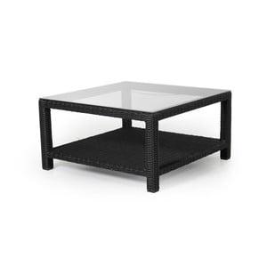 Masă pentru grădină Brafab Ninja, 90 x 90 cm, negru