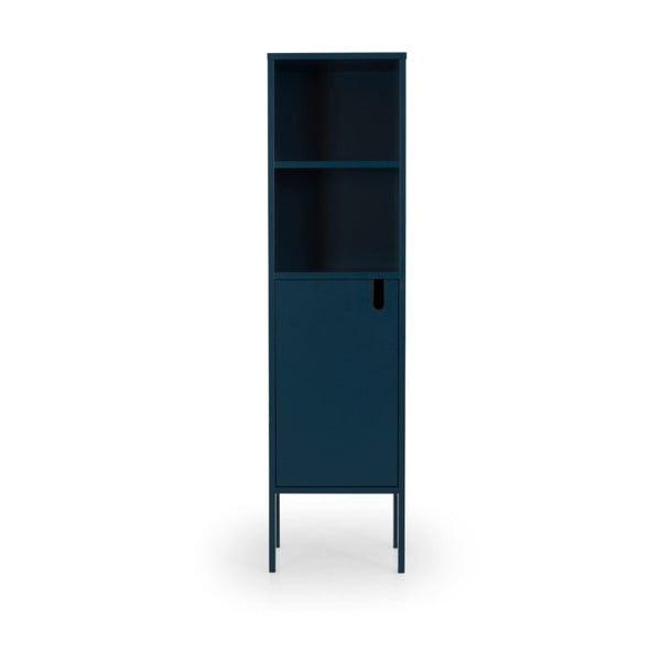 Petrolejově modrá skříň Tenzo Uno, výška 152cm