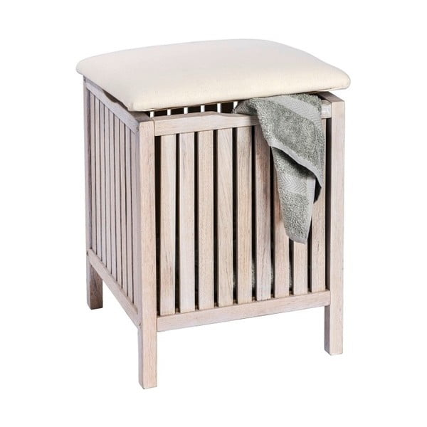 Norway fehér diófa fürdőszobai ülőke és tároló - Wenko