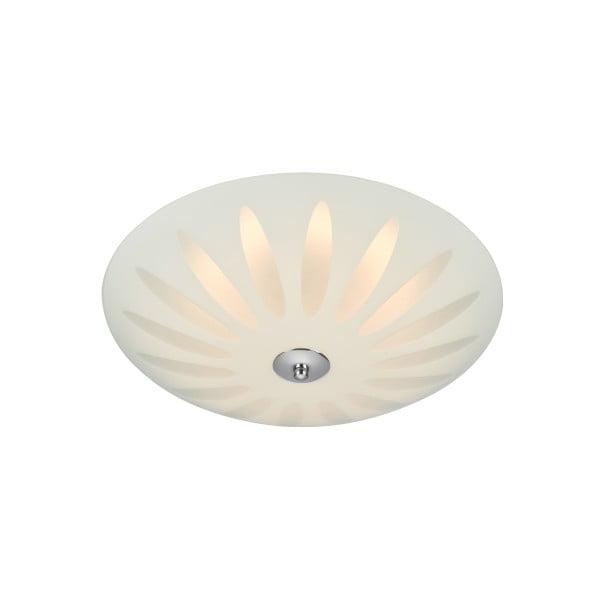 Plafonieră LED Markslöjd Petal, ø 35 cm, alb