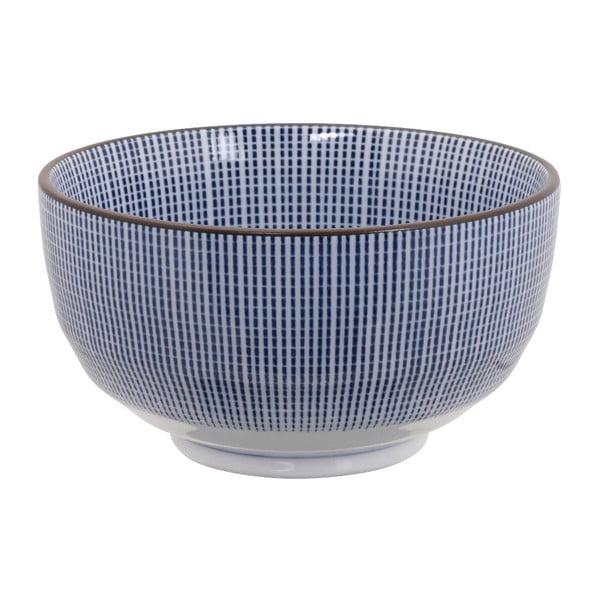 Bol din porțelan Tokyo Design Studio Yoko, 500 ml, albastru