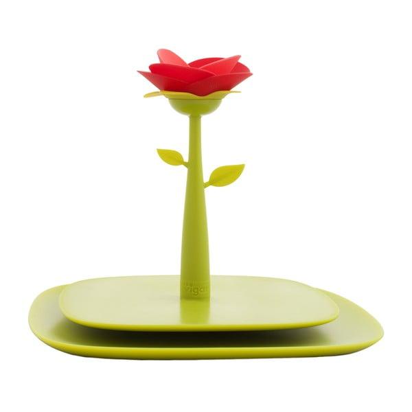 Držák na ubrousky Vigar Green Flower