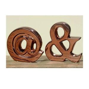 Sada 2 dekorativních písmen Sign