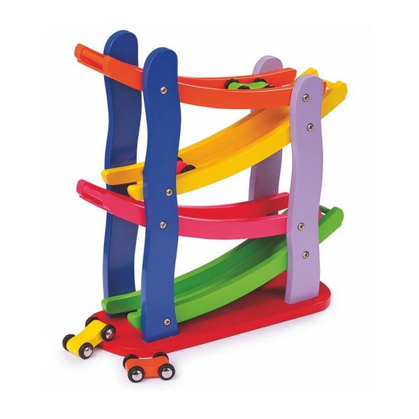 Dřevěná hračka Legler Racetrack