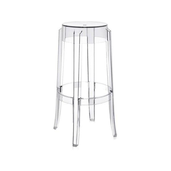Barová stolička Kartell Charles Ghost
