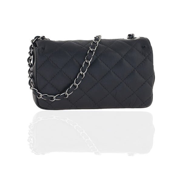 Kožená kabelka Isabelle, black