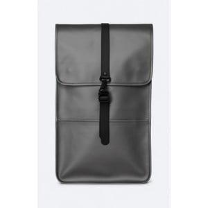 Batoh v šedé metalické barvě s vysokou voděodolností Rains Backpack
