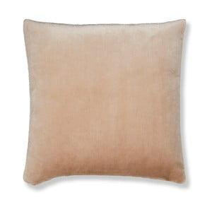 Světle růžový povlak na polštář Catherine Lansfield Basic Cuddly, 55x55cm
