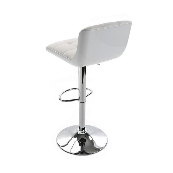 Barová stolička Brighton White