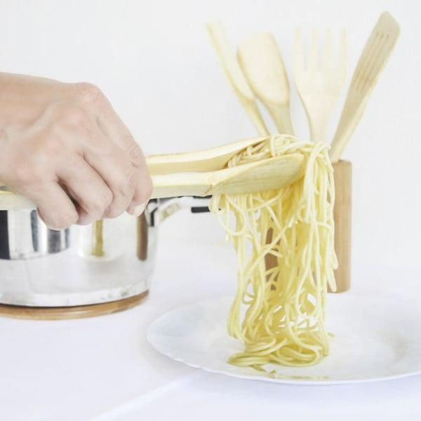 Bambusová sada kuchyňského náčiní