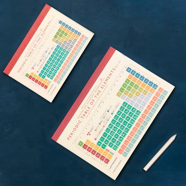 Zápisník Rex London Periodic Table, A5
