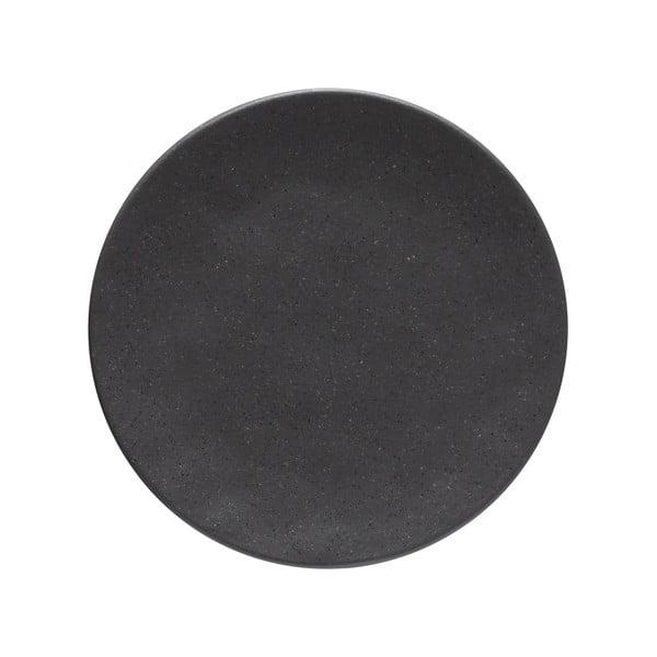 Šedý kameninový podnos Costa Nova Roda Ardosia, ⌀ 22 cm