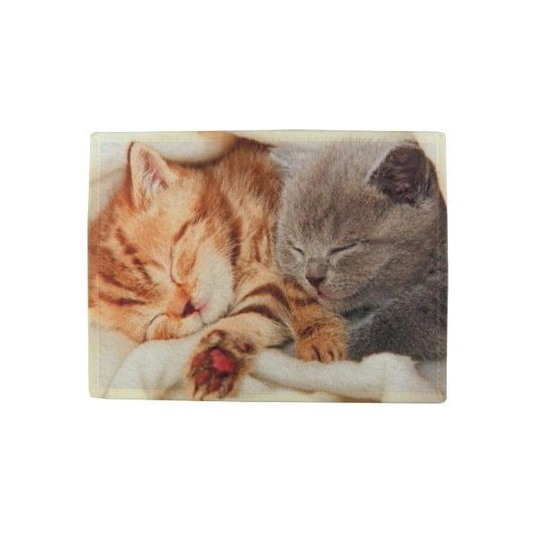 Prostírání Mars&More Kittens Sleeping on Blanket, 40x30 cm