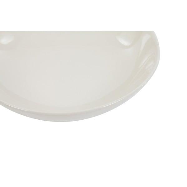 Sada 6 talířů Kaleidos 21 cm, bílá