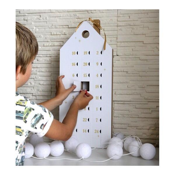 Calendar advent cu detalii aurii Unlimited Design for kids