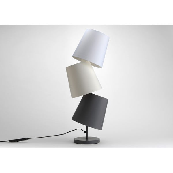 Stolní lampa Three Lampshades Neutral