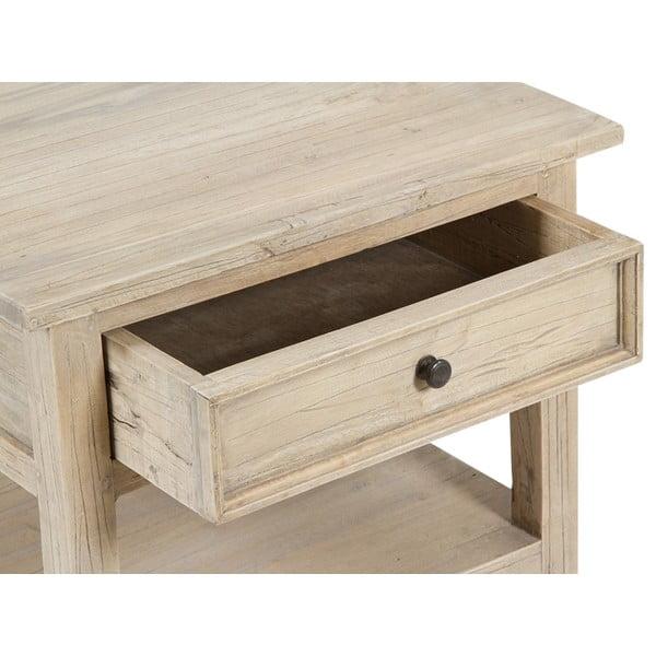 Příruční stolek ze dřeva mindi Santiago Pons Oahu