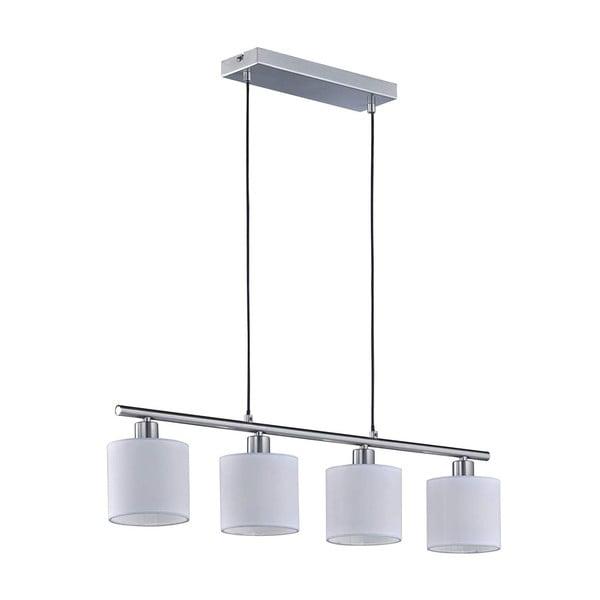 Bílé závěsné svítidlo pro 4 žárovky Triop Pendant Tommy