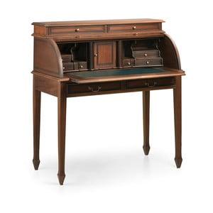 Stůl z mahagonového dřeva se zásuvkou Moycor Vintage