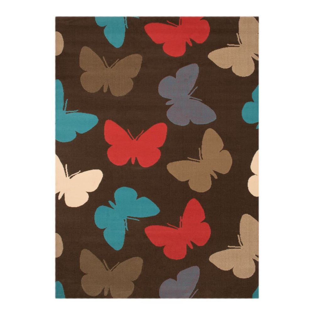 Dětský koberec Hanse Home Motýli, 140 x 200 cm