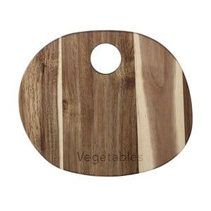 Krájecí prkénko z akáciového dřeva Bloomingville, 30 x 22 cm