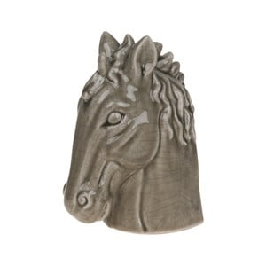 Decorațiune, Dijk Natural Collections Horse Head Olive, 19,5 cm