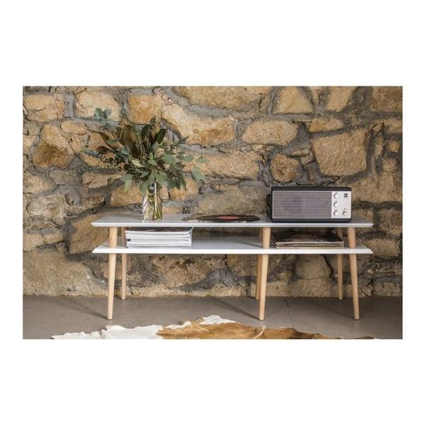 Bílý konferenční stolek Ragaba Mugo,délka159cm