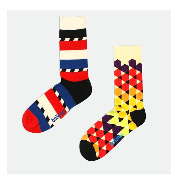2 páry ponožek Angular, velikost 41-46