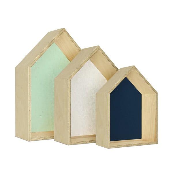 Sada tří poliček HF Living Hut