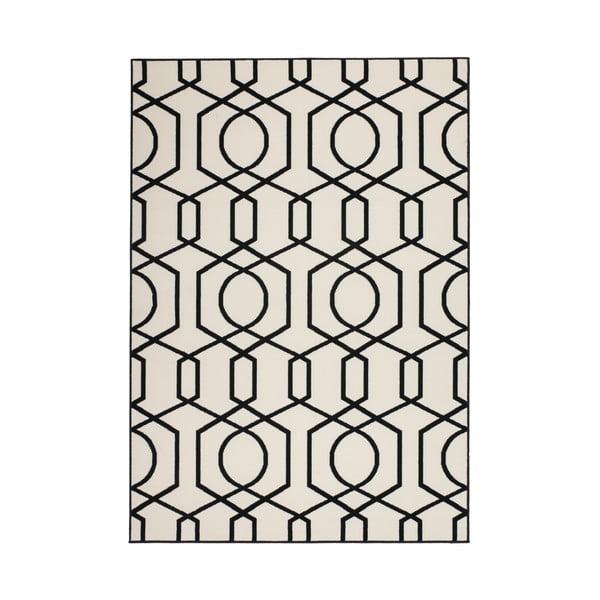 Černo-šedý koberec Kayoom Stella 400 Black, 200x290cm