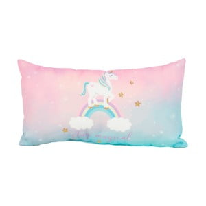 Polštář Just 4 Kids Unicorn Magic Stay Magical, 33 x 17,5 cm