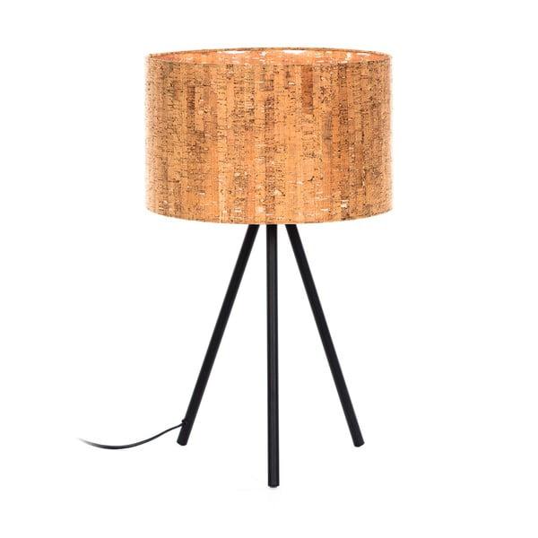 Hnědá stolní lampa La Forma, výška 56 cm