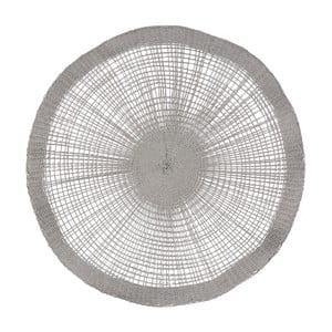 Față de masă decorativă Côté Table Soleil Grey, 38 cm, gri