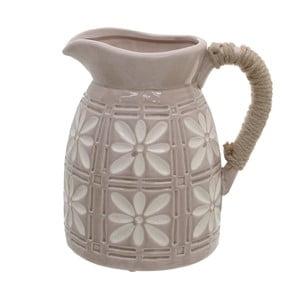 Cană din ceramică InArt Amaia, bej