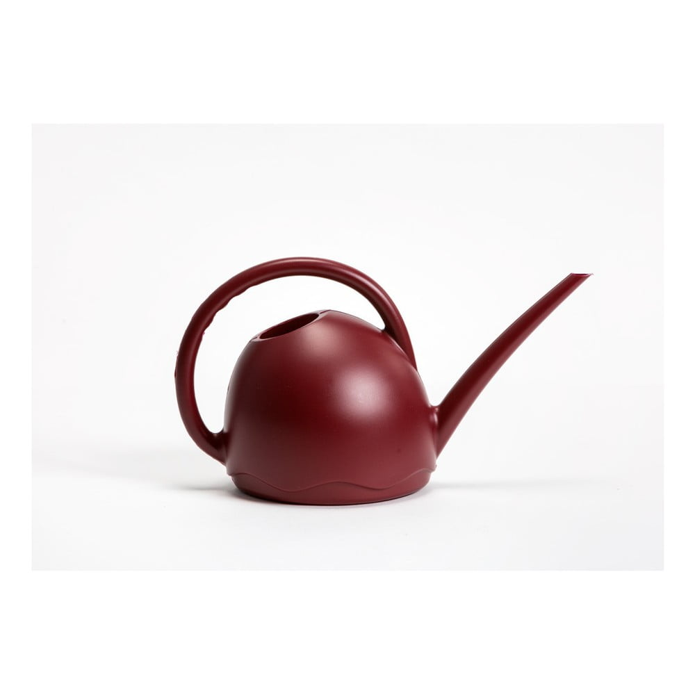 Vínově červená konvička Plastia Medusa, 1,8 l