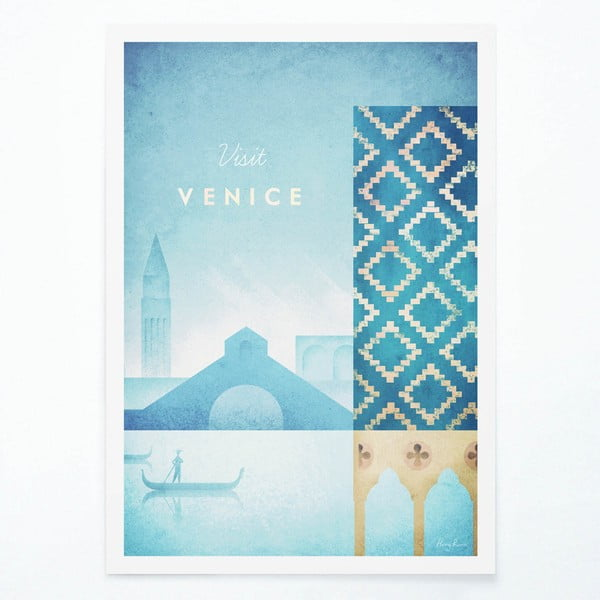 Poster Travelposter Venice, A3