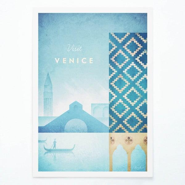 Plakát Travelposter Venice, A2