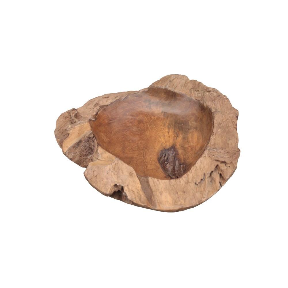 Mísa na ovoce z teakového dřeva HSM collection Mara, ⌀ 40 cm