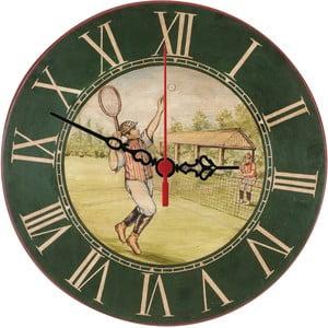 Nástěnné hodiny Vintage Tennis, 30 cm