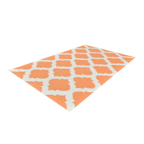 Ručně tkaný koberec Kilim JP 11154 Orange, 90x150 cm