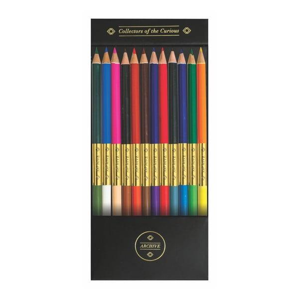 Set 12 creioane colorate Portico Designs