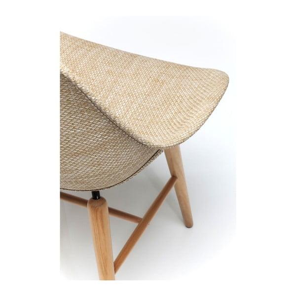 Set 4 scaune Kare Design Forum Wood, bej
