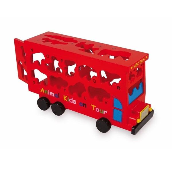 Puzzle Legler ABC Bus