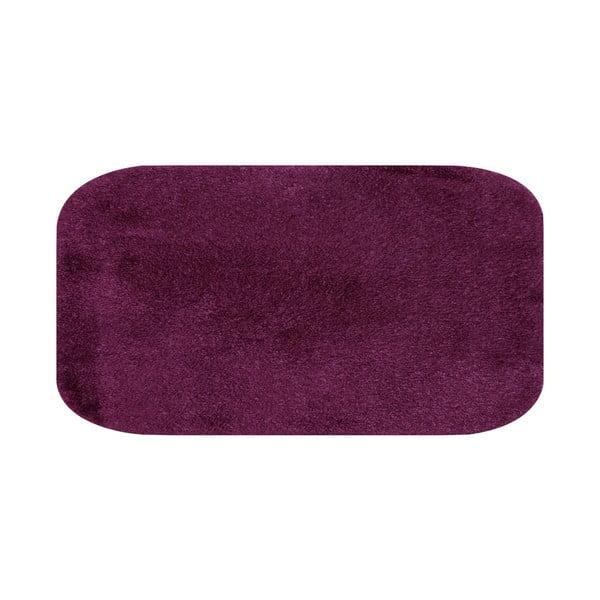 Fialová predložka do kúpeľne Confetti Miami, 67×120cm
