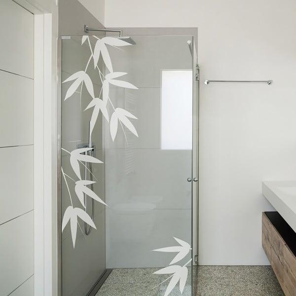 Autocolant pentru cabina de duș Ambiance Bamboo Leaves