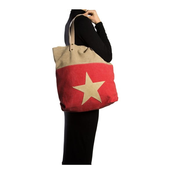 Nákupní taška Isabella Rhea 8020, červená
