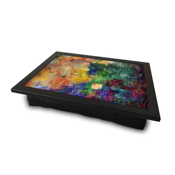 Servírovací tác spolštářem na spodní straně Abstract, 36 x 46 cm